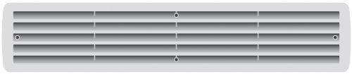 rejilla de ventilaci/ón para puertas Rejilla de pl/ástico de ventilaci/ón para ba/ño varios colores gris rejilla de ventilaci/ón 1/par