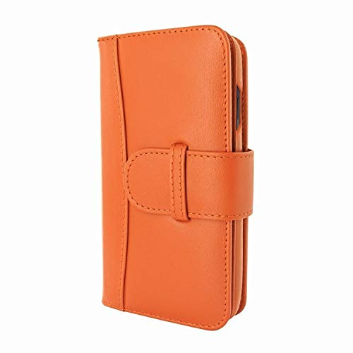 Piel Frama WalletMagnum orange iphone xr case 2019