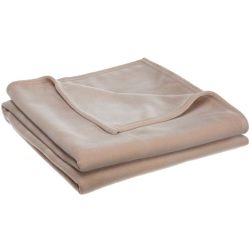 (1 New Super Soft West Point Stevens Vellux Blanket Warm Soft Hotel Luxury (Tan, King))