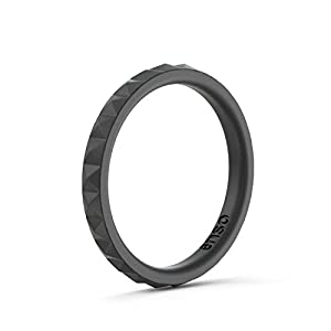 Enso Womens Stackable Silicone Rings
