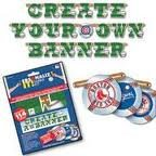 MLB Personalize It Banner Kit (Mlb Team Message Fan)