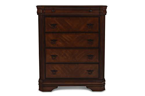 New Classic Furniture 00-005-070 Sheridan Chest, Burnished Cherry