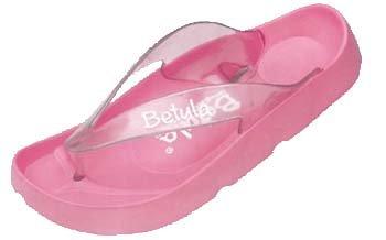 Betula Wave No.1 - Chanclas para mujer Rosa(Pink)