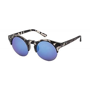 Chic-Net Gafas de sol Cateye 400UV redondo de los vidrios de ...