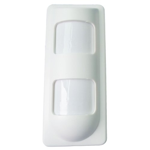 (SUNLIT TECH OTD-40T Wired 2 Pir and Microwave Motion Detector for Outdoor Protection (White))