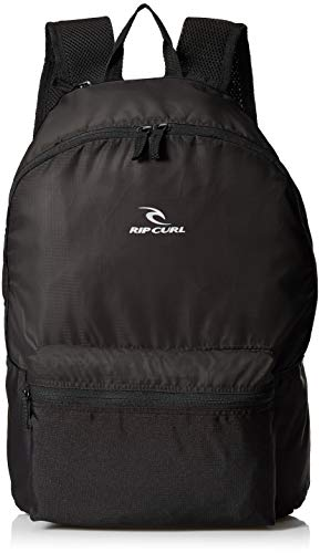 (Rip Curl Men's Packable Dome Backpack, Black, 1SZ )