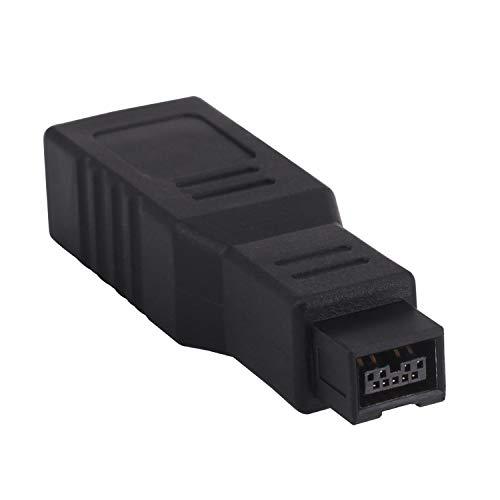 Adaptador firewire 400 a 800.