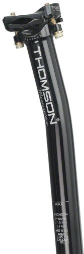 Thomson Masterpiece Bicycle Seatpost (Setback, 31.6X350mm, Black) by Thomson