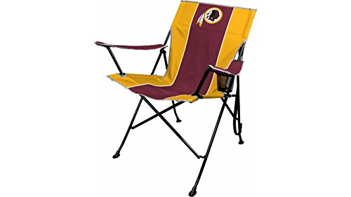 Folding Tailgating Chair Tailgate (NFL Portable Folding Tailgate Chair with Cup Holder and Carrying Case)