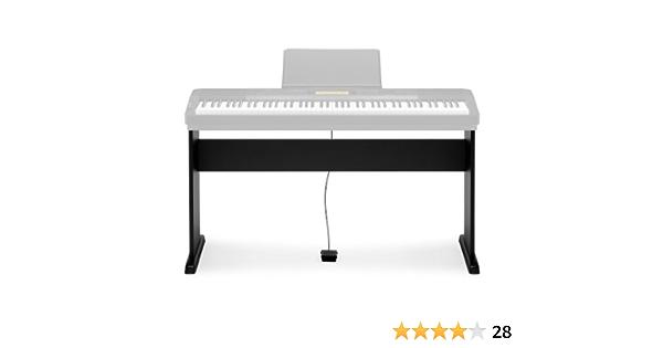 Casio CS-44PC5 - Soporte para teclado electrónico (plástico), color negro - Casio: Soporte teclado CS 44 PH7