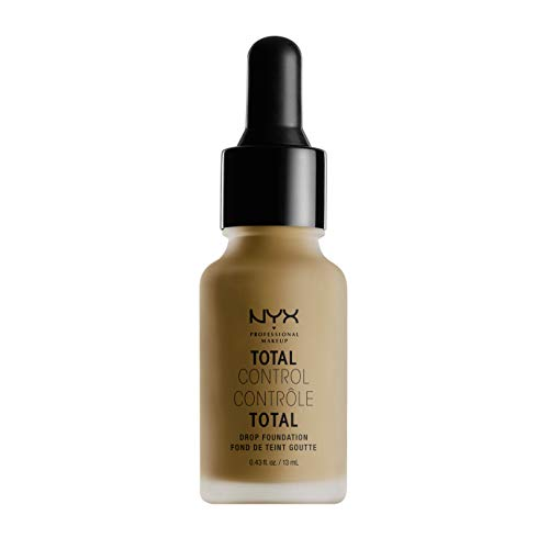 NYX PROFESSIONAL MAKEUP Total Control Drop Foundation, Cappuccino
