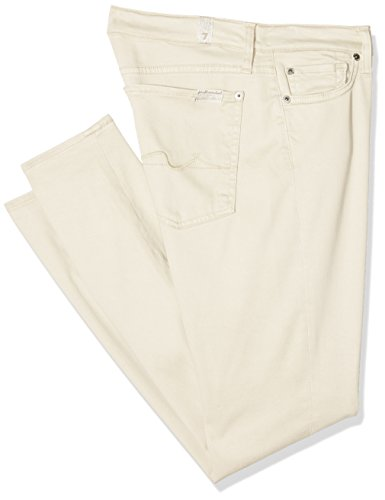 7 Jeans The Donna cream Crop Skinny Mankind All For Bianco pgTqpr