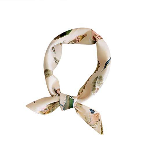 - HYIRI Soft Cozy Fashion Women Square Head Scarf Wraps Scarves Printed Kerchief Neck Scarf