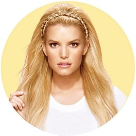 Amazon.com   Hairdo Jessica Simpson Elastic Braid Headband Ginger Blonde    Fashion Headbands   Beauty 8f95b04ade1