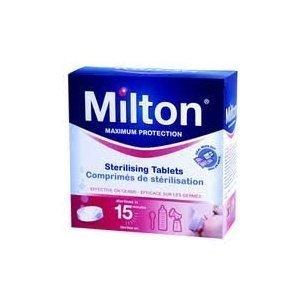 Reliable Milton Maximum Protection 28 Sterilizing Tablets - Kills Bacteria, Viruses, Fungi & Spores BBY4ALL