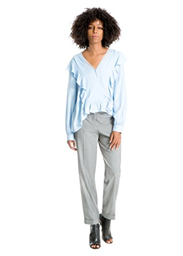 Max Studio Houndstooth Straight-Leg Trousers
