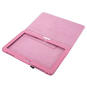 NEW Wave Point Textured Faux Leather Flip Case for Samsung XE500T , Pink