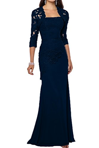 a8273b70619 VaniaDress Women Long Mother Of The Bride Dress With Jacket Formal Gowns  V263LF Navy Blue US16