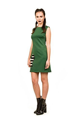 Divina Providencia For All Green, Vestido para Mujer Verde