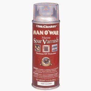 Man O' War Marine Spar Varnish Exterior, Outdoor Gloss 11.5
