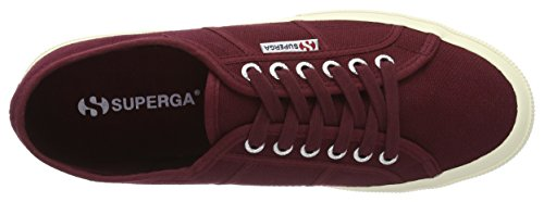 Boredeaux cotu Classic Red Superga 2750 dark Baskets Homme TF5f0qw