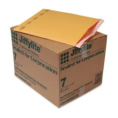 Jiffylite Self-Seal Mailer, Side Seam, #7, 14 1/4 x 20, Golden Brown,