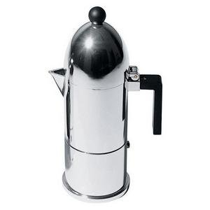 La Cupola Aluminium Espresso Maker 6 cups by Aldo Rossi for Alessi by Alessi