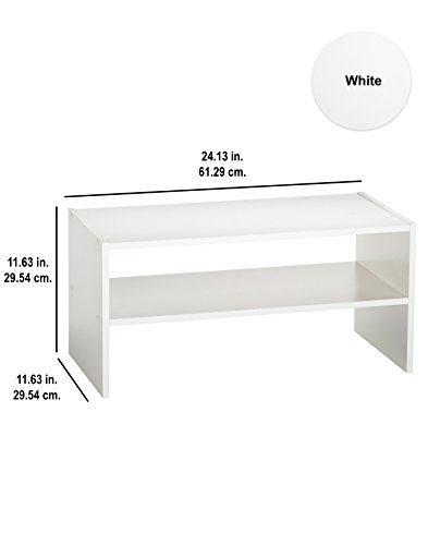 Closetmaid 8993 Stackable 24 Inch Wide Horizontal