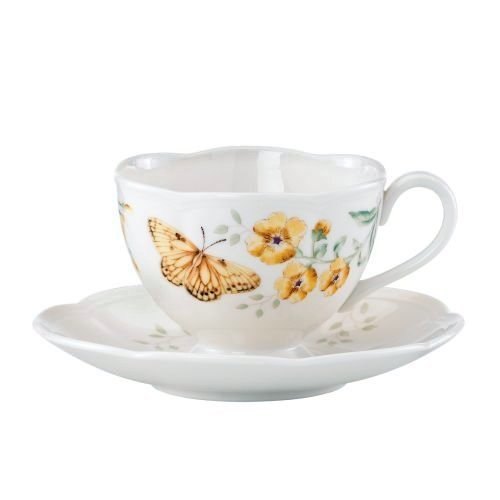 Lenox Butterfly Meadow Fritillary Cup and Saucer ()