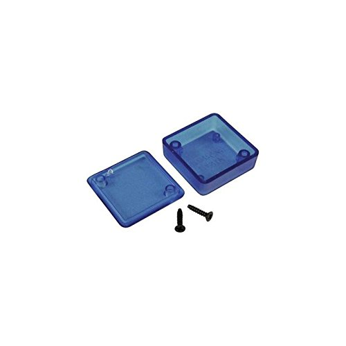 Hammond 1551HTBU Translucent Blue ABS Plastic Project Box -- Inches (2.36' x 1.38' x 0.79') mm (60mm x 35mm x 20mm) Hammond Manufacturing