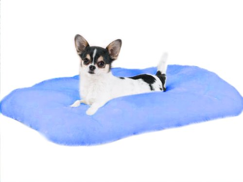 Slumber Pet Cloud Cushion Dog Bed, Large, Blue