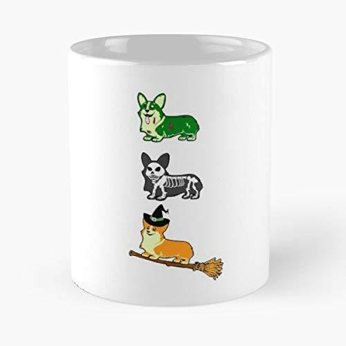 Apparels Gift Corgi Halloween Happy Lovers Coffee Mugs Funny Gift 11 Oz