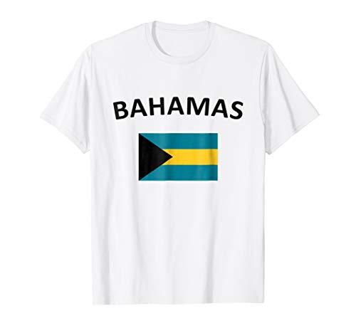 Bahamian Pride Flag T-shirt Bahamas Shirt Great Gift Tee
