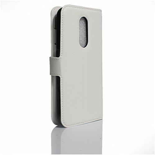 Funda ZTE Blade A910,Manyip Caja del teléfono del cuero,Protector de Pantalla de Slim Case Estilo Billetera con Ranuras para Tarjetas, Soporte Plegable, Cierre Magnético I