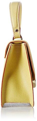 Arcadia Elisabeth, Borsa a Tracolla Donna, 7x15x18 cm (W x H x L) Giallo