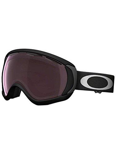 Oakley Canopy Goggle Matte Black with Prizm Black Iridium Lens - Oakley Glasses Ski