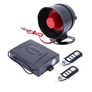 Uniqus 24V Truck Anti-Theft Intelligent System Buzzer Alarm Predection Security System