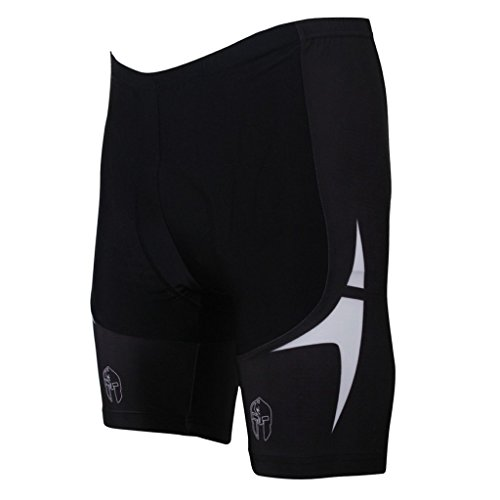 PaladinSport Men's Cycling Shorts with 3D Pad Asian Size 6xl