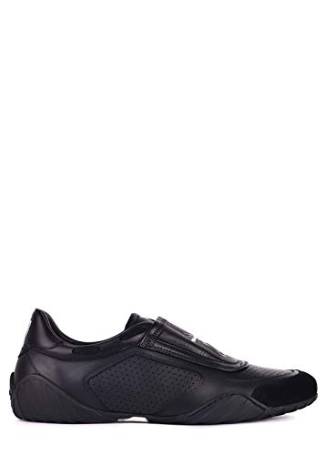 (Dior Womens D-Fence Black Leather Suede Low Top Sneakers Sz IT37.5/US7.5~RTL$890 )