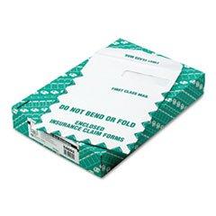 ** Redi-Seal Insurance Envelope, First Class, Side Seam, 9 x 12 1/2, White, 100/Box