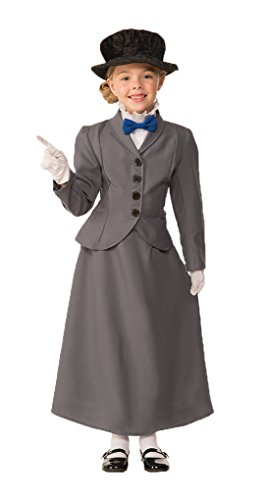 Child size English Nanny Costume - Mary Poppins - Large 12-14 ()