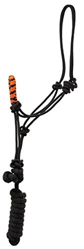 (TWO TONE NOSE ROPE HALTER WITH LEAD)