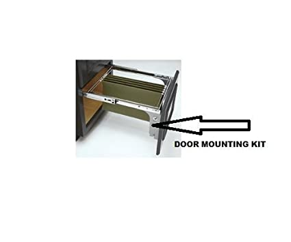 Rev A Shelf, Door Mounting Kit, Two Pair For Both Tiers,
