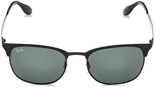 Ray RB Matte 3538 Shiny On Blk Top Ban Sonnenbrille Black 4rPqx4A