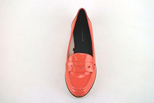 TOMMY HILFIGER mocassini donna corallo vernice AH845