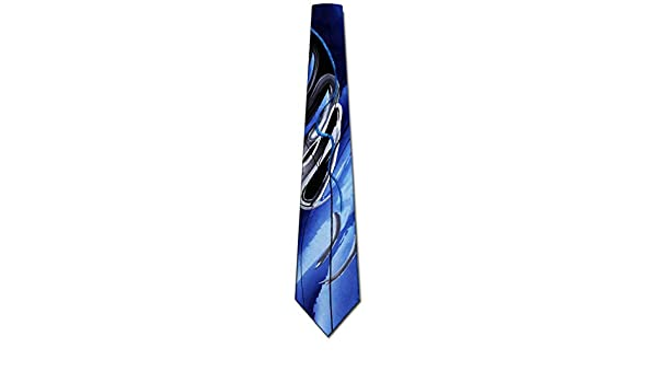 Blue Duck Worm Alarm Men/'s Jerry Garcia Patterned Tie Necktie