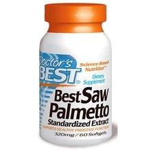 Complément alimentaire - Best docteur Saw Palmetto - Prise en charge des voies urinaires en bonne santé et de la fonction de la prostate - 320mg / 60 Gélules