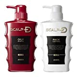 Oily Scalp D Set [Shampoo (For Oily Skin) and Pack Conditioner]