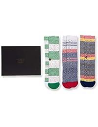Butter Blend Sock 3 Pack Gift Box (Multi, Large)