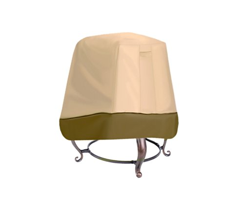 Pyle PVCFP97 Armor Shield Patio Fire Pit Cover, 28.5-Inch, Fits Extra Tall Stand-Up Fire Pit